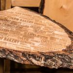 Houten Plank kerstpakket